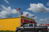 D183-2014 The Uncle Sam's Fireworks Store. <br /> The store is exactly as advertised.  It sells fireworks and nothing else.<br /> <br /> Located off U.S. 23 at the first exit north of the Ohio/Michigan border.<br /> Taken July 2, 2014