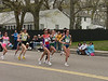 Eventual winner Rita Jeptoo of Kenya is in the middle, just next to #1 Reiko Tosa