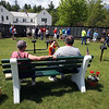 The Moving Wall replica of the Vietnam Veterans Memorial comes to Pelham Village Green for Memorial Day weekend.  (SUN/Julia Malakie)