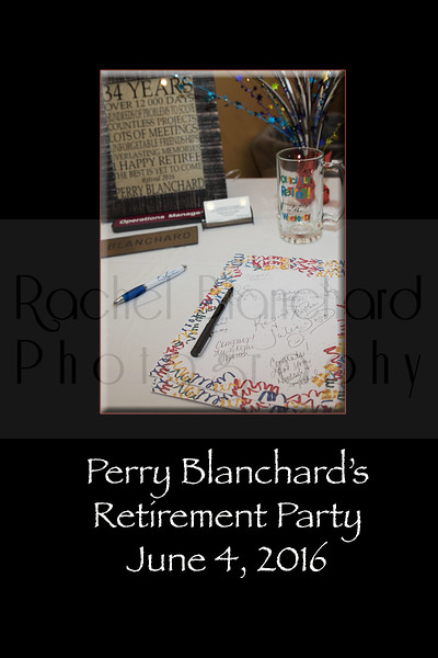 Perry Blanchard's retirement party