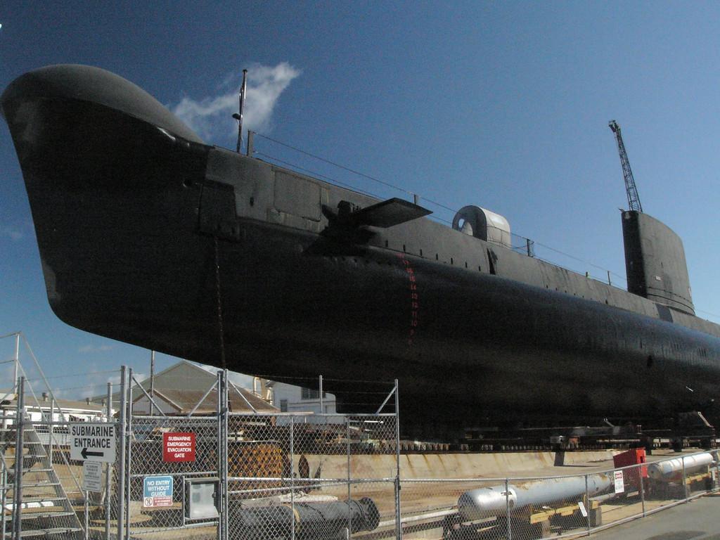 20060422_1838 Oberon-class submarine, RAN Ovens. Fremantle Maritime Museum.