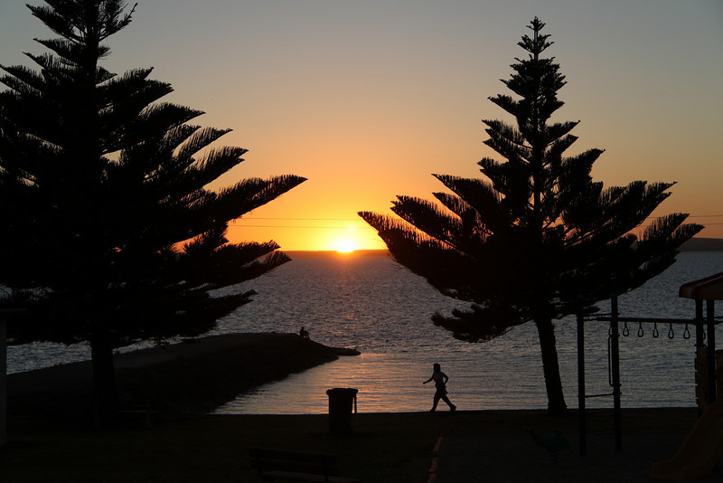 Sunrise at Port Lincoln