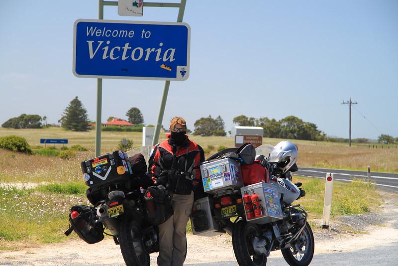 SA / Vic Border (begining of the Great Ocean Road)