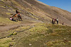 The distance from the car park is about 5km at an altitude of up to 5,000m.<br /> <br /> Walking at this altitude can be tiring and locals with horses are always available to help. For a certain price.