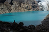 Glacial lake at high altitude and not entirely exposed to the sun.<br /> <br /> This is can be done as a short side trip.