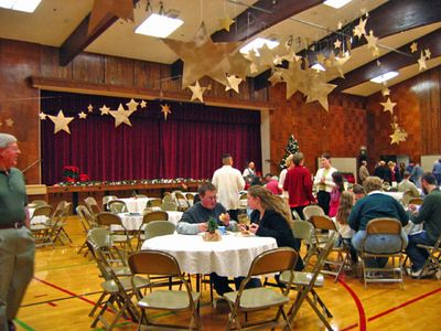 Peterson Lane Ward Christmas Party Dec. 2004