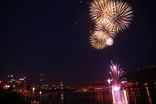 Pittsburgh 4th of July Fireworks 2012