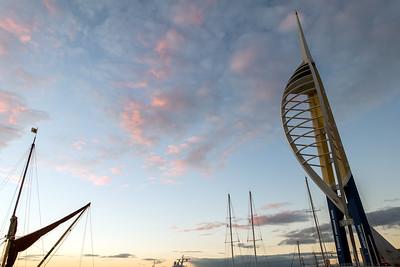 Spinnaker Tower, Portsmouth Harbour