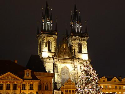 Prag - Julmarknad