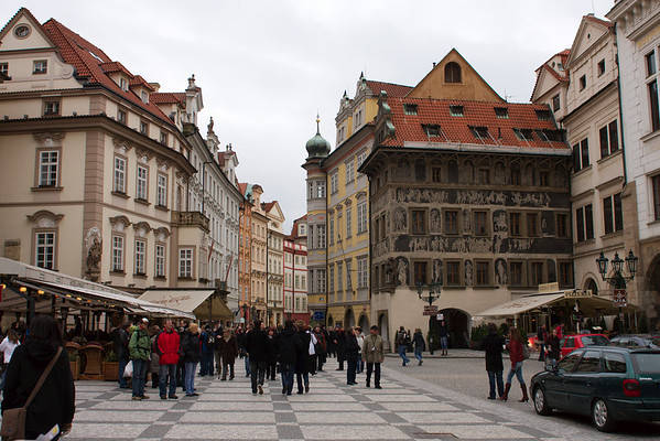 (South-) West of Old Town Square