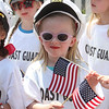 Annual Memorial Day parade at Building Blocks Preschool & Kindergarten. Alex Hajduk, 5, of Tewksbury. (SUN/Julia Malakie)