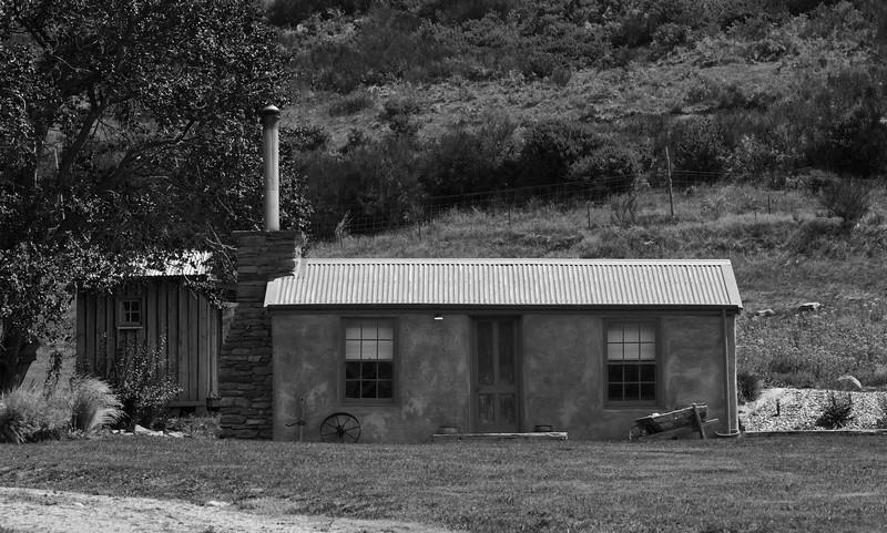 Old House near Cardrona Hotel Feb 2011