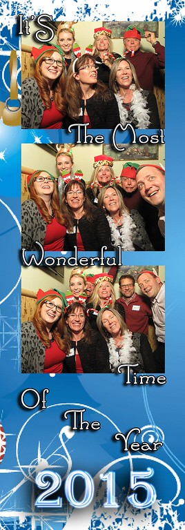 RVCB Holiday Party Photo Strips