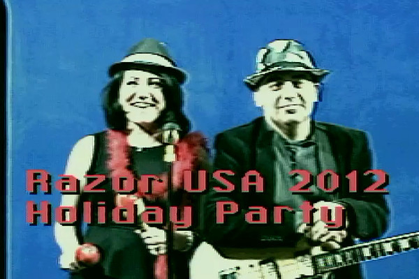 Razor USA 2012 Holiday Party - Music Videos - 12/13/12