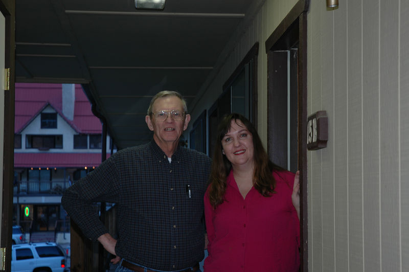 Louise Kadkhodai and her father Dave Nelson.