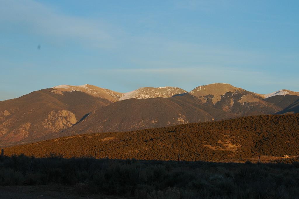 I believe this is Latir peak (12,723 ft).