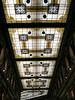 Prachtig plafond van een galerij bij het Piazza Santa Maria di Loreto