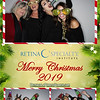 Retina Specialty Institute Christmas Party 2019 with Pensacola Photo Booth