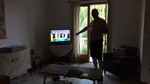 Dag 8 vrijdag 01-07-2016 rustdag en avondeten in Vaison-la-Romaine