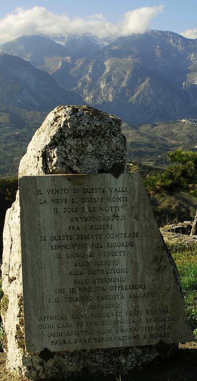 Gessopalena Memorial