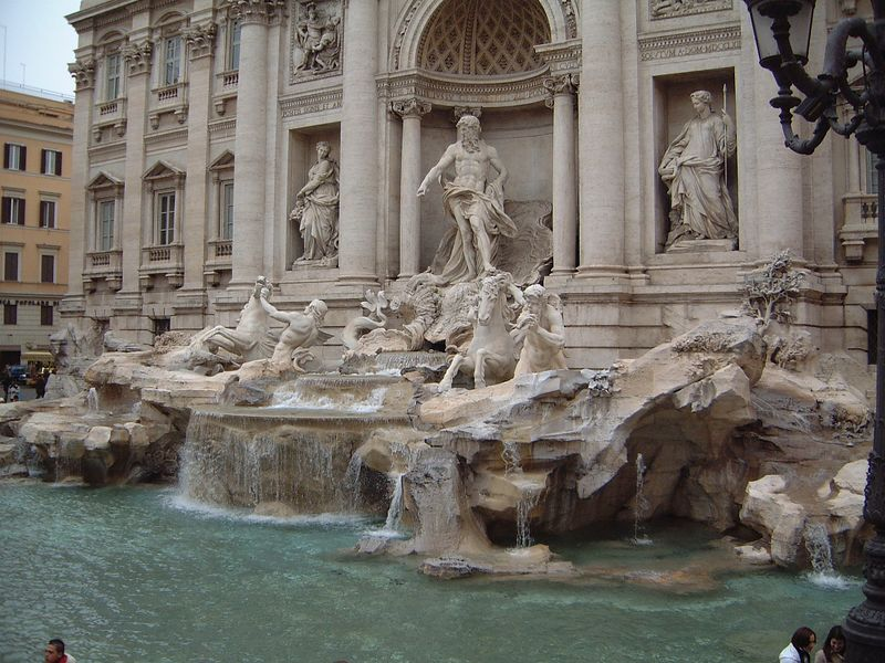 016 Trevi Fountain