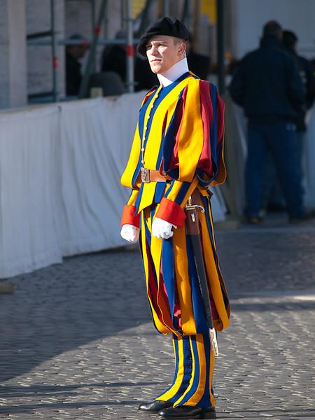 Swiss Guard, Vatican City