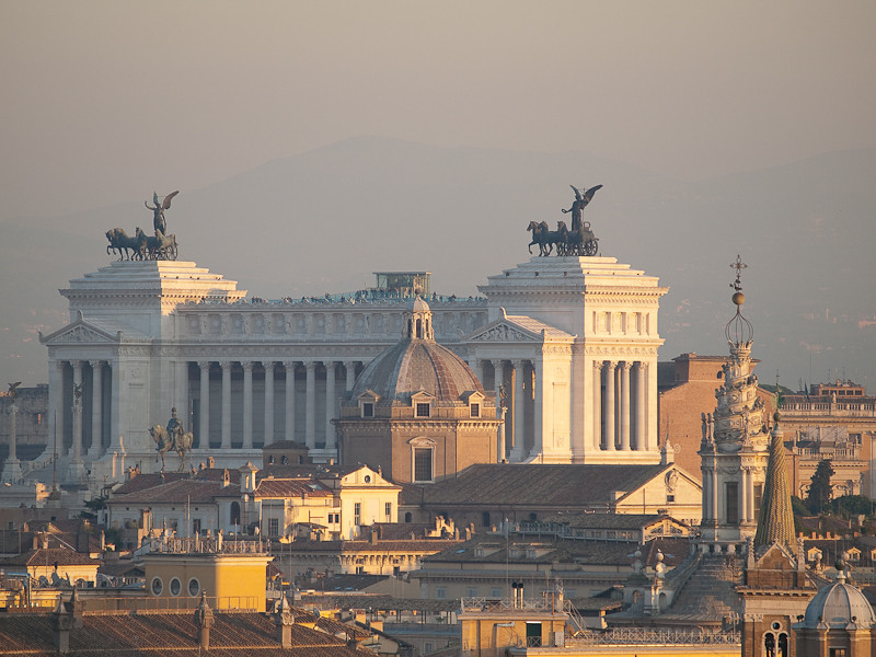 View from Castel Sant'Angelo, Rome