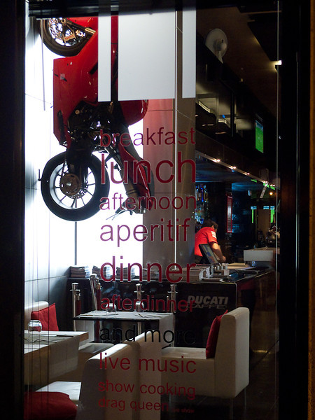 Ducatti Cafe, Rome
