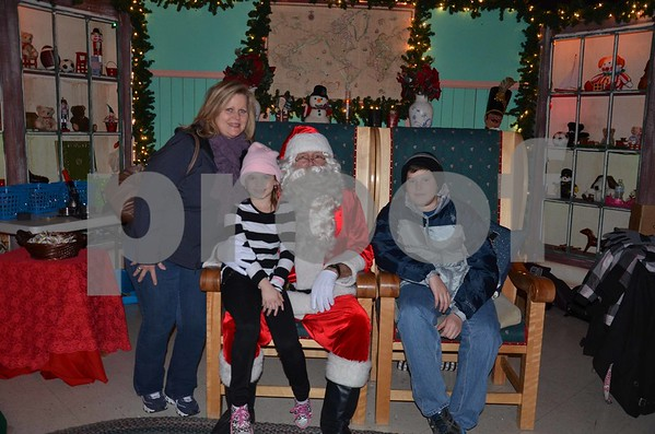 Santa's Magic Forest weekend of 12/12/14