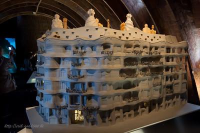 Casa Milà ' La Pedrera' door Gaudi