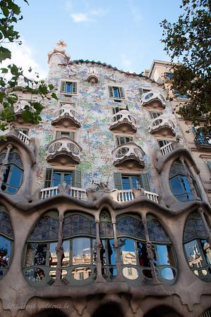 Casa Batllo door Gaudi