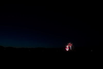 Saint Helena 4th Fireworks 2017
