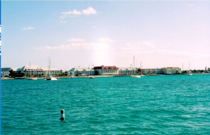 Therefore, on this trip I picked a hotel that was closer to Marigot.   In fact, the hotel at which we stayed is right on the Baie de Marigot and only a five minute walk into town.