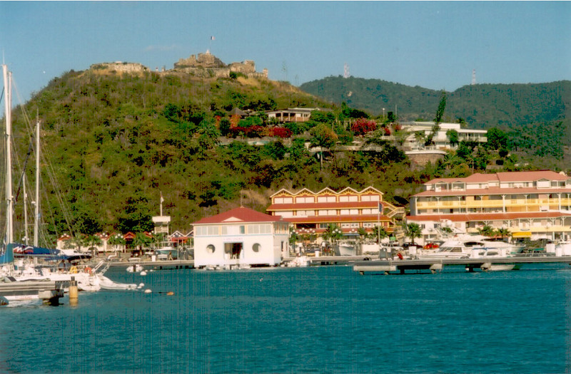 When Francine found out in mid-February that she would be staying with ING, I immediately booked a vacation for Saint Martin.  It was partly as a celebration and partly to escape winter.  This is a photo of Marigot, the French capital of Saint Martin.
