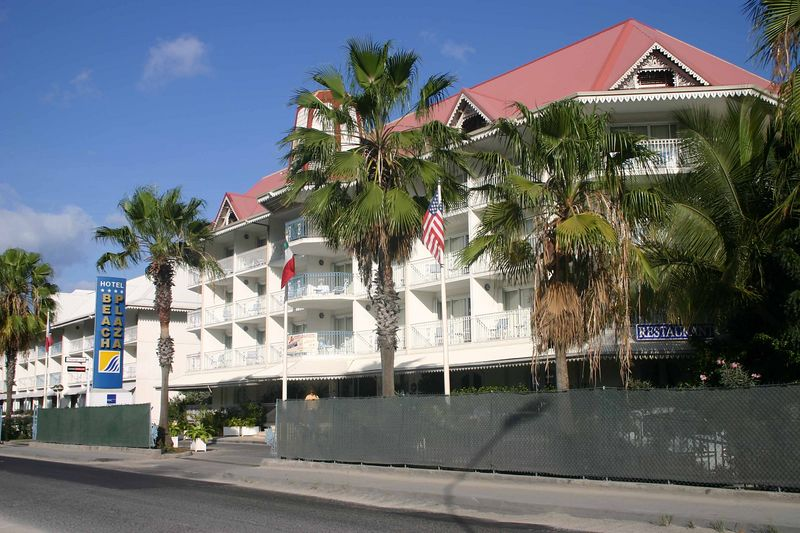 "As can be seen, the Beach Plaza is a low rise hotel. The four star rating is an honest one.   The rooms are good-sized but the hotel, itself, is squeezed onto property between ""the"" road and the Caribbean."