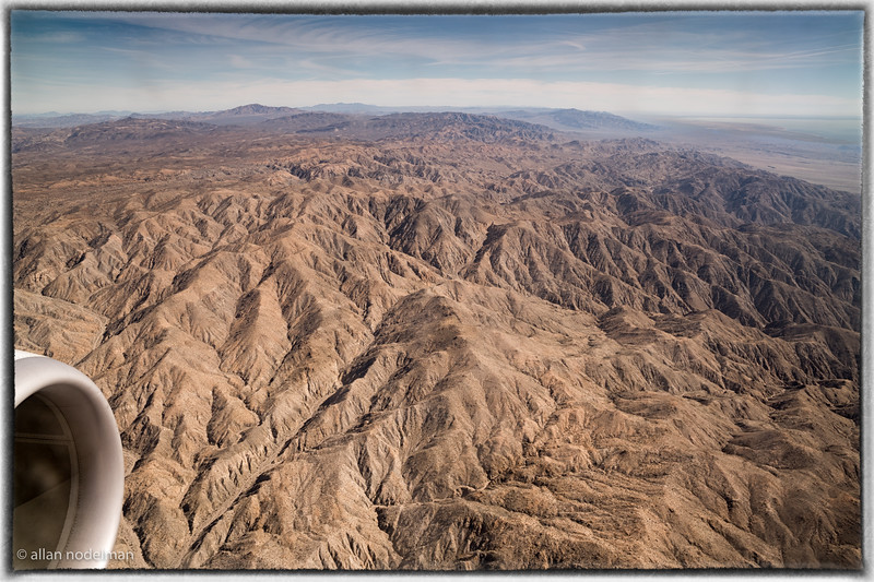 Coming into Palm Springs California