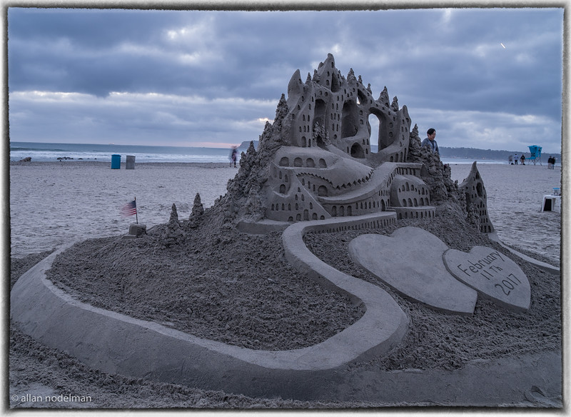 Sand Sculpture at Hotel del Coronado