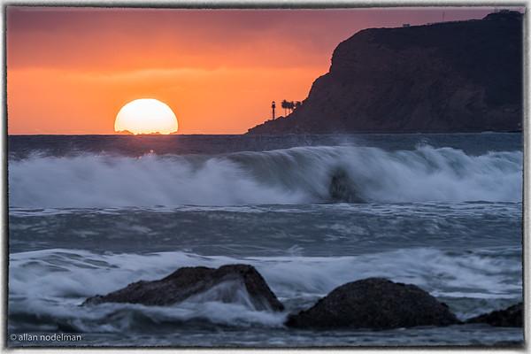 Sunset From Coronado Island