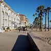 Shutters, a fine local hotel on the Santa Monica beachfront.