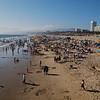 Santa Monica beach-scape