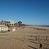 Volleyball on Santa Monica Beach