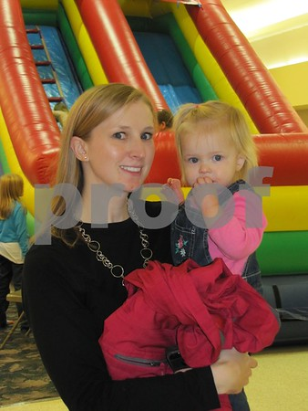 Melissa Webster and daughter Josephine.