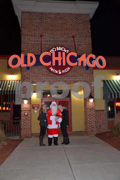 Santa at Old Chicago 2014