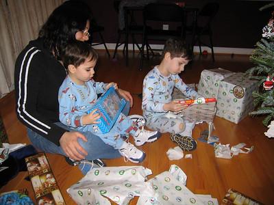 Santa visits NC 2005