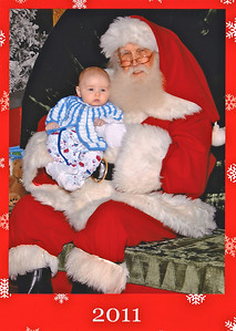 Edmund and Santa Claus 2011