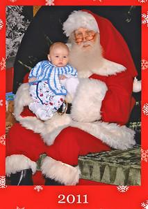 Edmund and Santa Claus 2011