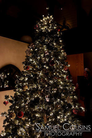 Christmas tree at Grace