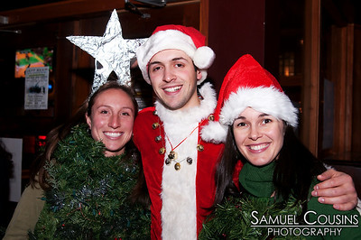 Santacon in Portland, Maine