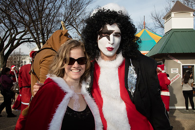 Megan McFarland (Naughty and Nice) and David Karnes (Father Kissmes) from Silver Spring Md.