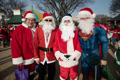 Dan Elling, Casey Nestlerode, Jay Jones, Super Santa all went to Lockhaven High School